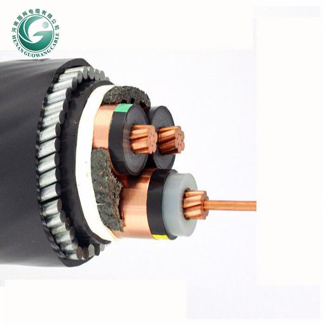 Hohe Spannung Power kabel Feuer Hemmende gepanzerte 240mm vpe-kabel