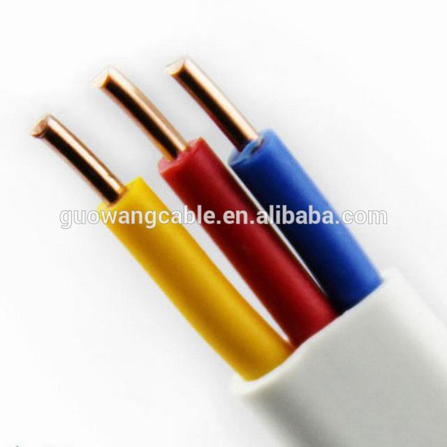 High purity oxygen-free copper conductor with good flexibility electric wires good fire resistance