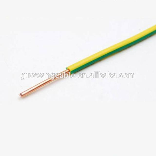 Home Appliances Single Core Stranded Cooper Building Electric Wire 1.5mm