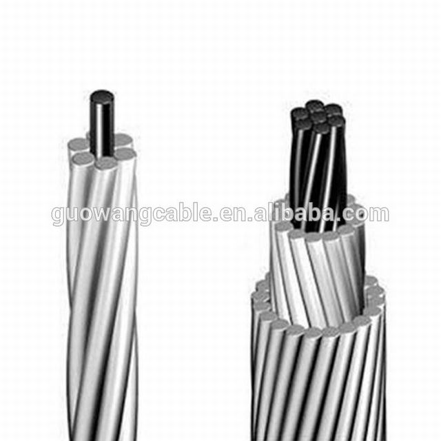 Low voltage aluminum conductor PVC or XLPE jacket overhead cable