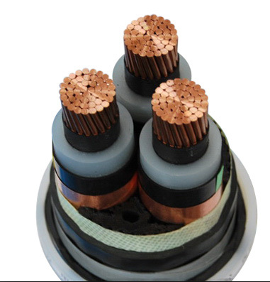 MV 6.35/11kv Copper Conductor Electric Cable Three Phase IEC 60502 electrical cable brand