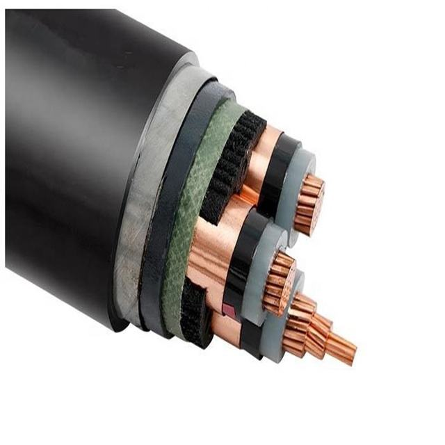 MV Power Cable 3x185mm Xlpe/Pvc electric cable