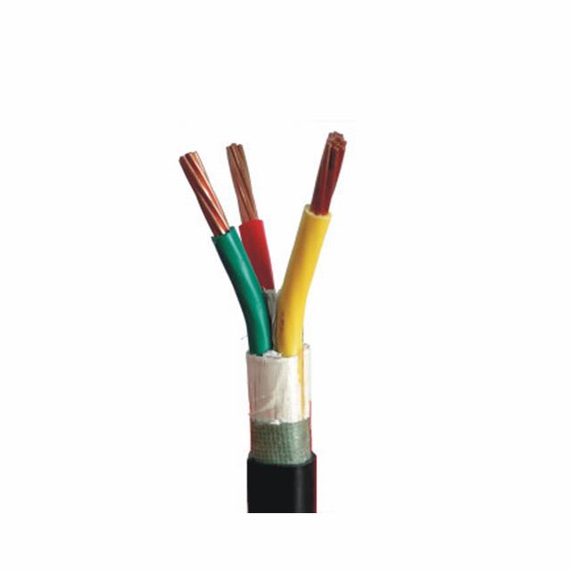 Manufactures 220V Underground 3×2.5 PVC Power Cable
