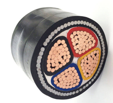 Medium Voltage Steel Wire Armoured Electrical Cable