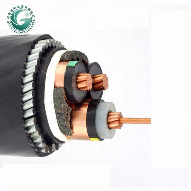 Medium voltage power cable 1 core 3 cores