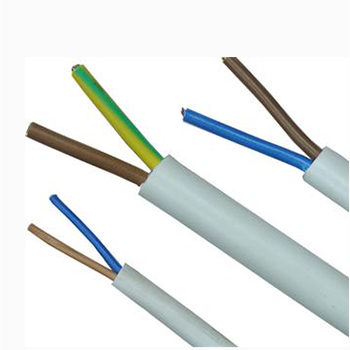 Multi-core flexible electrical control wire cable