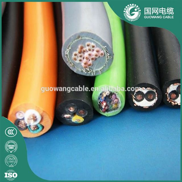 Orange Sheath Cable Silicone Rubber Cable Standard Philippine Rubber Flexible Insulated 4x50mm H07rn-F Copper Cable