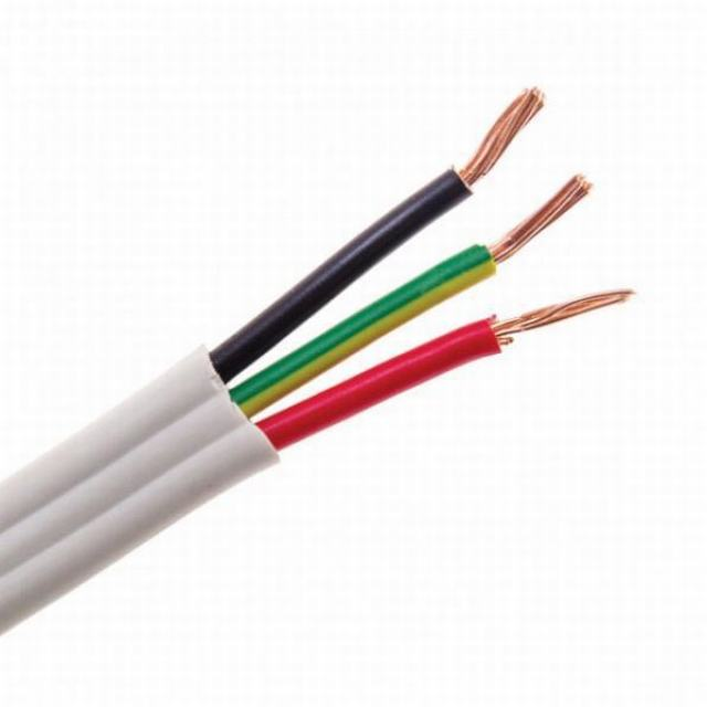 PVC Copper Conductor 2 Core 4 6 mm Low Voltage Electrical Wire