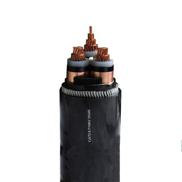 Price High Voltage 3x240mm underground armoured power cables