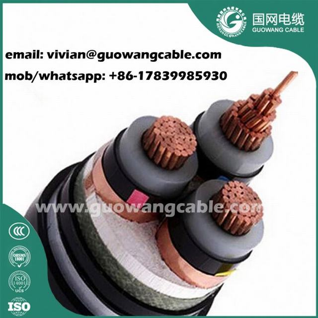 Price High Voltage Power Cable 3x240mm Xlpe/Pvc Power Cable N2XY NA2XY NA2XRY Multicore Armoured Cable