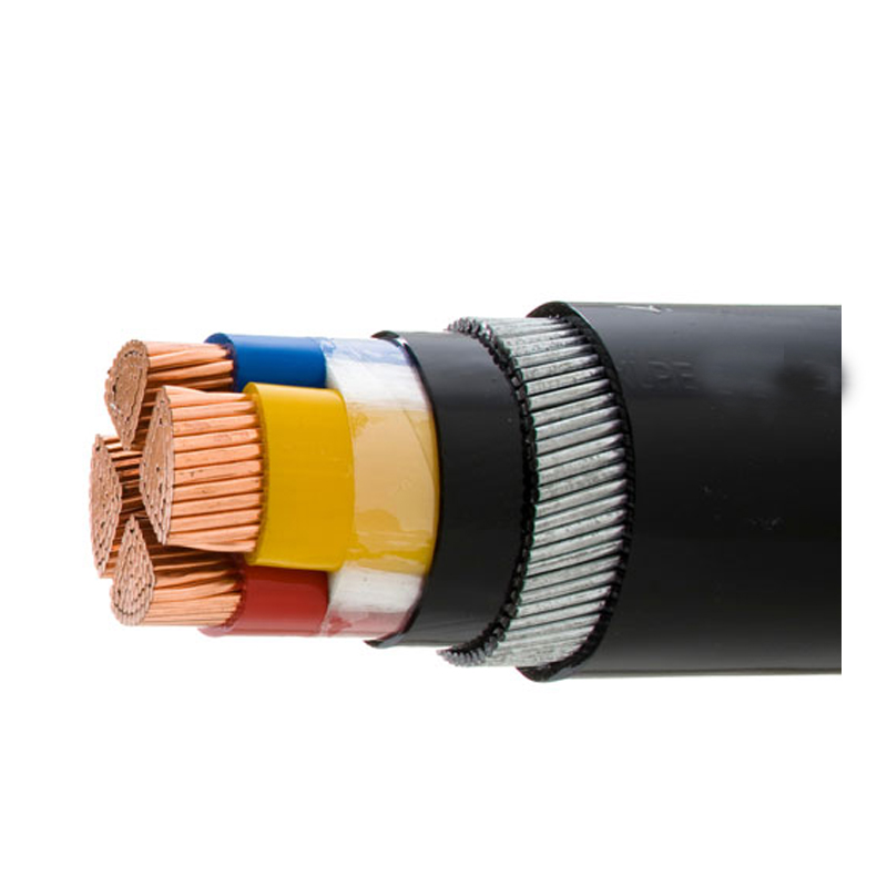 Professional WDZN below 33kV 3x4mm,3x16mm Steel Wire Armoured Electrical Cable 3 Phase Copper Wire Screen XLPE Power Cable