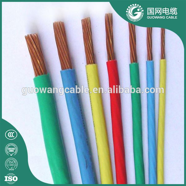 Professional manufacture housing building used single core stranded electric cable/wires and cables eletricos/copper cable