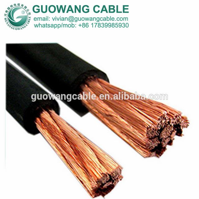 Rubber Coated Electrical Wire 60245 Iec 81(Yh) 500amp 4/0 AWG