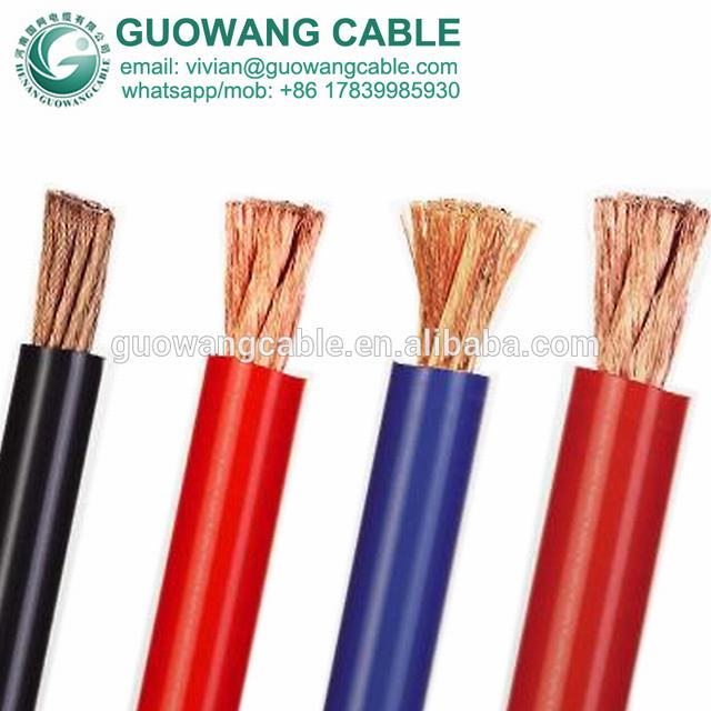 Welding Cable Butyl Rubber Sheathed 1000 V Single Conductor 95mm Sq X 1C