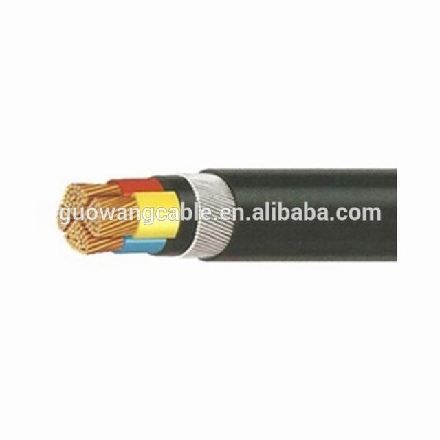 XLPE Insulated Multi Core Solid Copper Mineral Power Cable with Waterproof Jacket