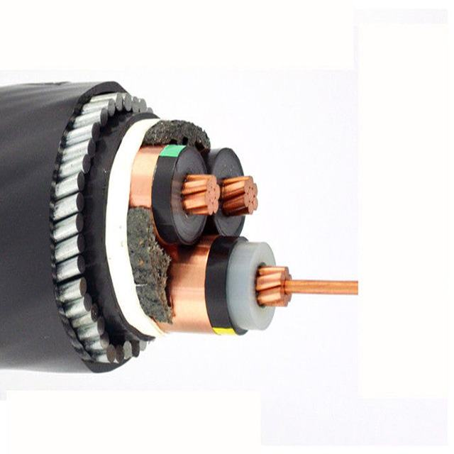 XLPE insulated  Wire  MV Armoured Power cable  high voltage