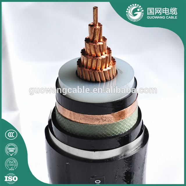 Xlpe Insulated 2500mm2 Power Cable A2xfy Cable 150mm2 Copper Conductor Cable SWA/STA/AWA Underground Armoured Cables