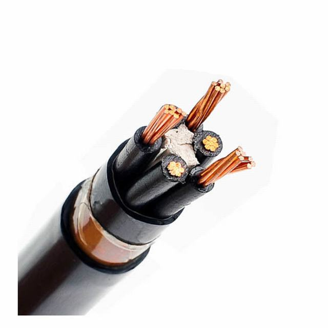 YJV 0.6/1KV XLPE Insulation Solid Bare Bandao Cable Cooper Stranded 3×240+2x120sqmm Power Cable