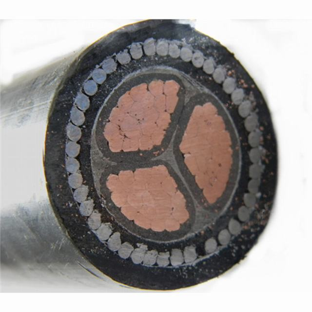 YJV32 copper conductor XLPE insulated thin steel wire armoured PVC jacket power cable