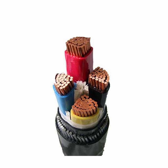 cu/xlpe/swa/pvc 0.6/1kV Low Voltage 4 corex35mm 4x70mm 4x95mm 4 Core Armored Manufacturer cable 4x50mm