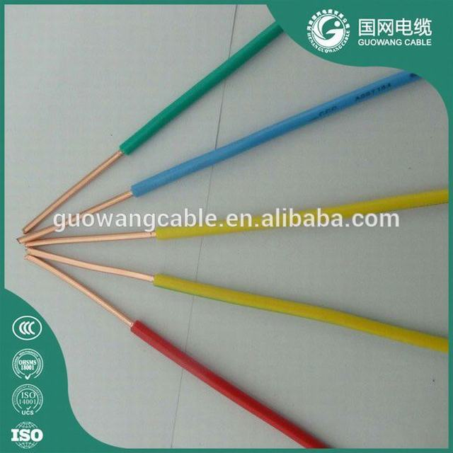 high quality factory price electrical ground wire color 1.5mm