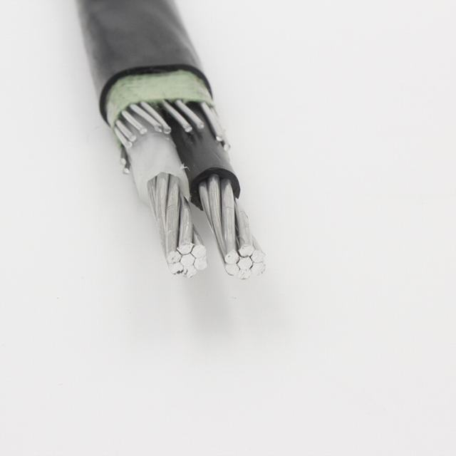 Aluminum Concentric Cable 2*6+6AWG anti-theft cable