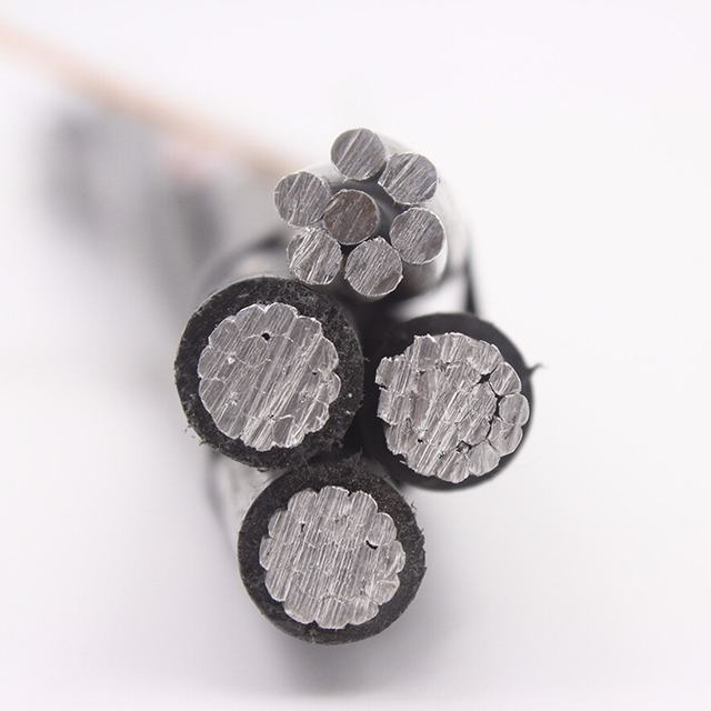 xlpe insulated abc cable aluminum conductor