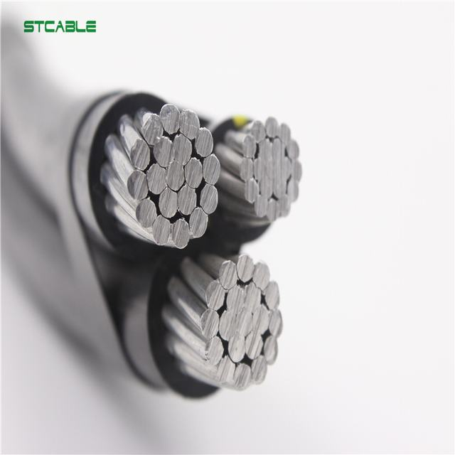 xlpe insulated abc cable phase conductor with aac aaac acsr bare conductor