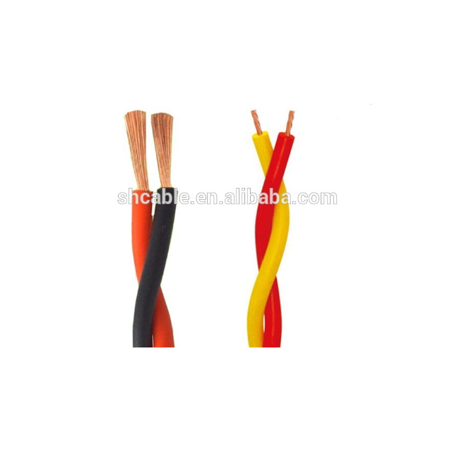 2×0.75mm strand material twisted pair cable flame retardant