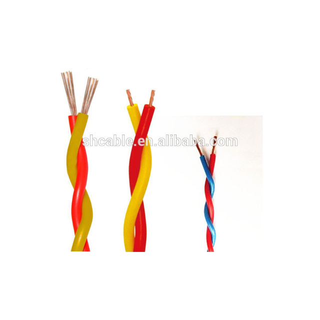 2x2.5mm gelb rot rvs kabel flexible verdrilltes kabel