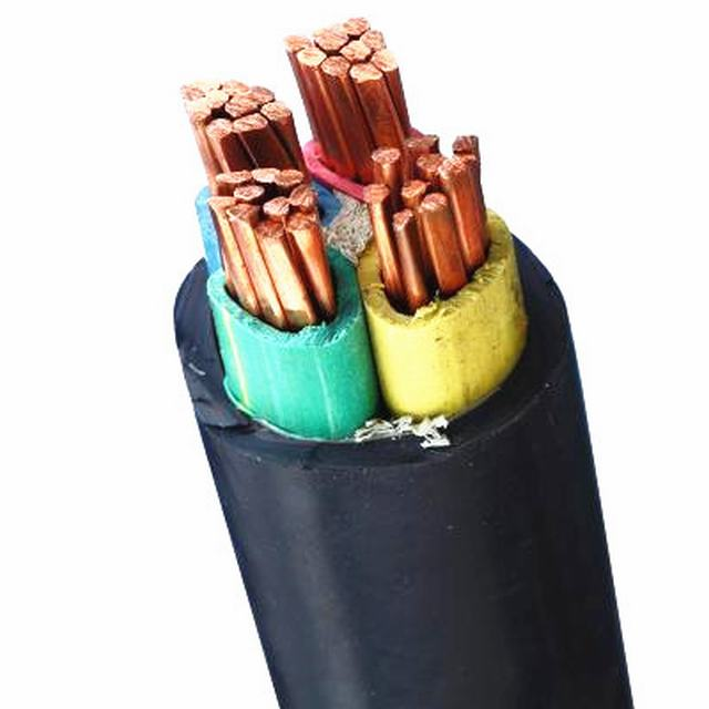 4*35mm2 good quality Copper core XLPE Insulation PVC jacket electrical cable power cable for underground