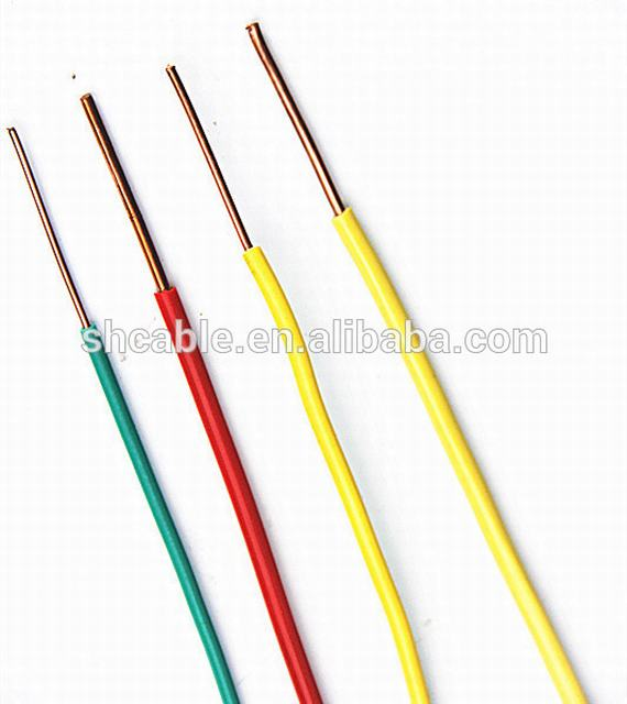 flexible building wire CU PVC wire house building 4mm2 6mm2 building wire