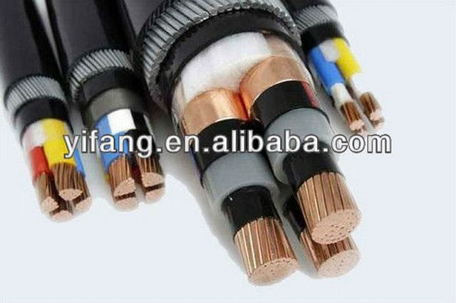 0.6/1kV ZR XLPE Insulated Power Cable YJV cable