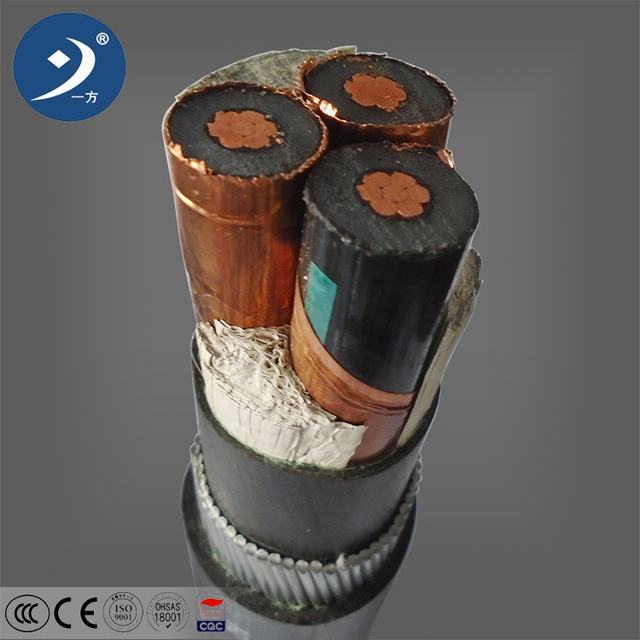 0.6/1kv multicore copper conductor SWA pvc power cable price in pakistan