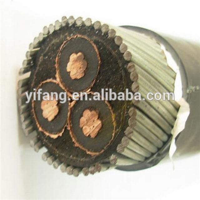 3 Core 70mm2 11kV XLPE SWA Armoured Cable