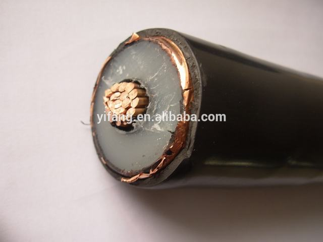 High Quality PVC Jacket XLPE Insulated Medium Voltage Cable