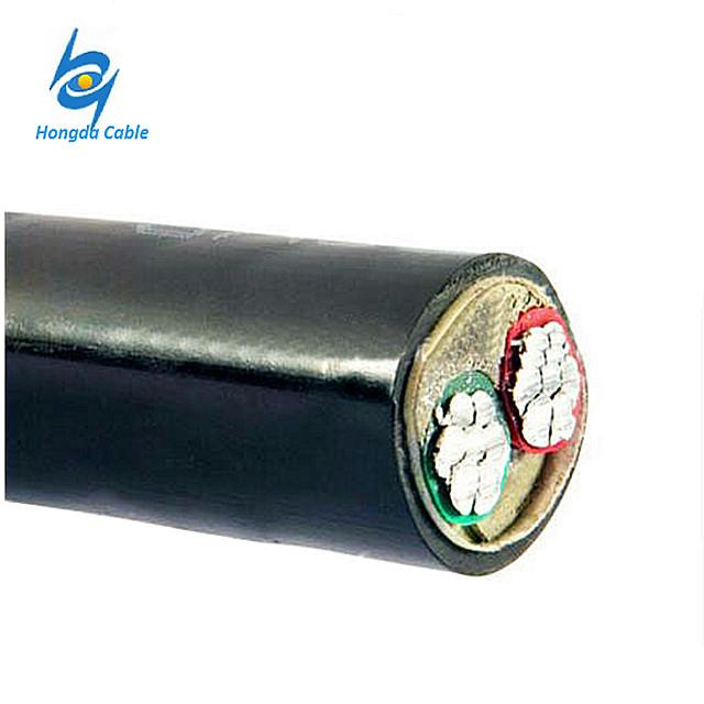16mm2 Aluminum PVC 2 Core Electric Wire