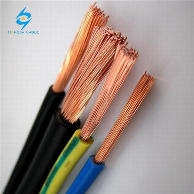 H07Z -K XLPO Halogen Free Insulation Industrial earth cable 35mm2