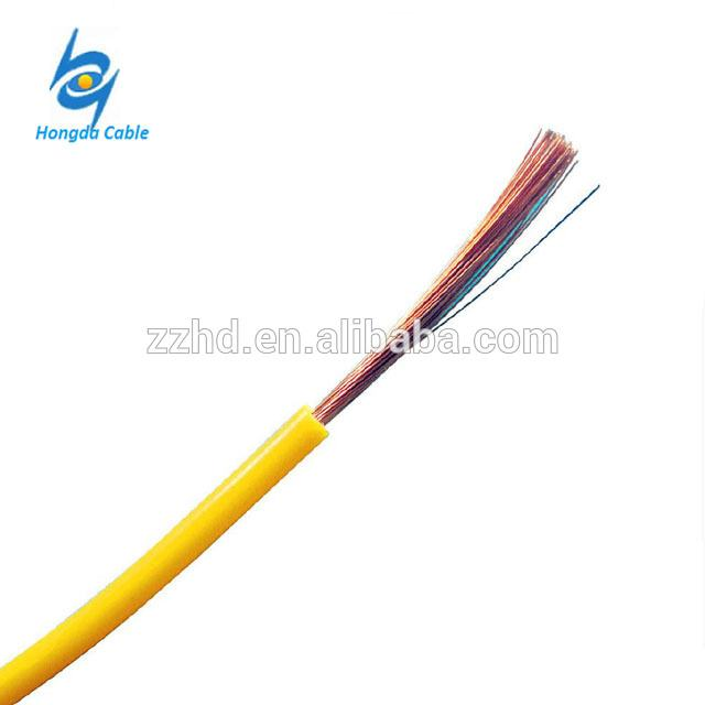 Flexible 1.5mm2 2.5mm2 4mm2  Copper Wire PVC Insulated Wire