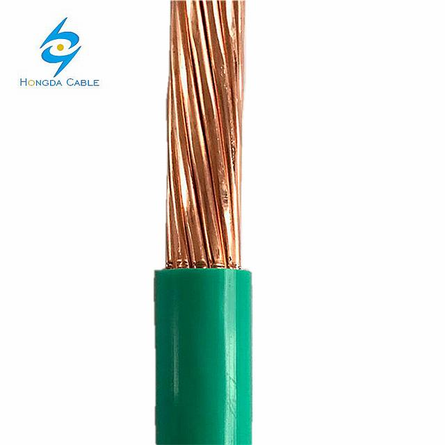 Single Core 16mm PVC Grounding Cable Electric Wire