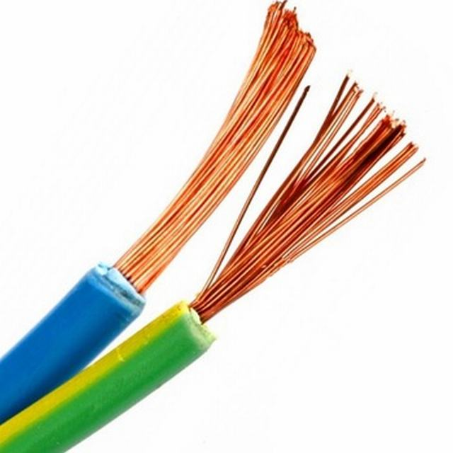 Soft copper wire stranded conductor flexible cable