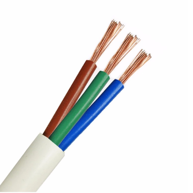 Top Quality Solid 3 Cores PVC Insulated Copper Wire Electric Power Cable Wire