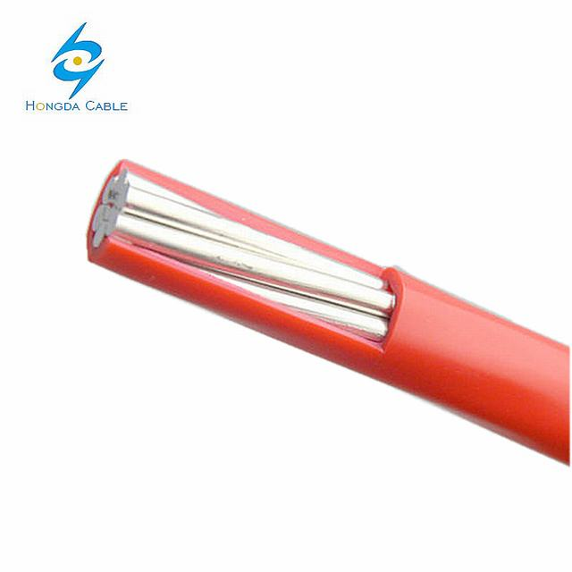 aluminum coil coated pvc cable electric wire single strand cable