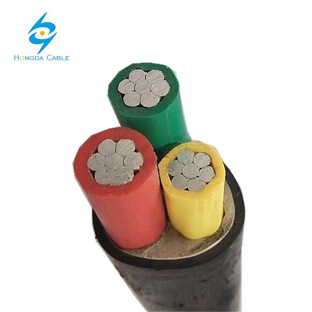 high tension 3 core xlpe insulated 3 core 25mm electrical cable price